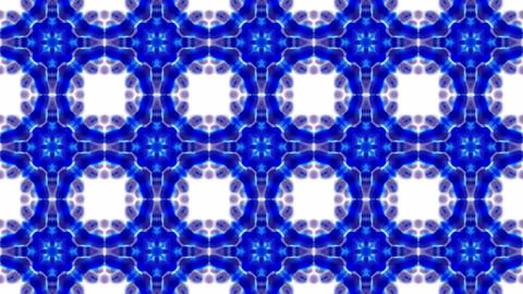 blue flower lotus fancy pattern.Buddhism Mandala... Stock Video Footage