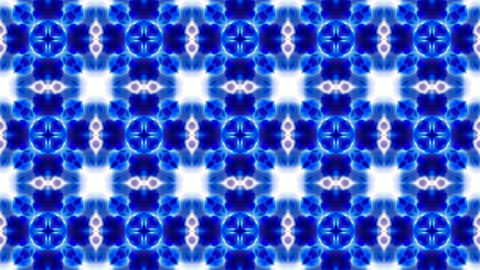 blue flower lotus fancy pattern.Buddhism Mandala flower,kaleidoscope,oriental religion texture Animation