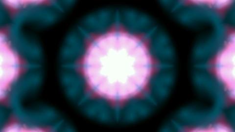 Animation of seamless flower lotus pattern.Buddhism... Stock Video Footage