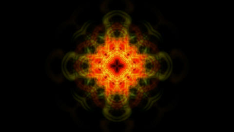 red flower lotus pattern,orient religion totem,kaleidoscope.Buddhism Mandala flower Animation