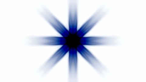 blue daisy flower lotus pattern or ray.star,Buddhism... Stock Video Footage