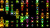 3d Metal Disco Neon Light.glass,concert,effects,entertainment,illumination,lights stock footage
