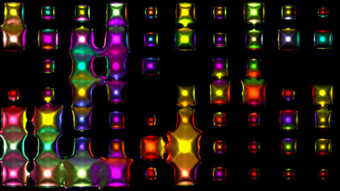 3d metal disco neon light.glass,concert,effects,entertainment,illumination,lights Animation