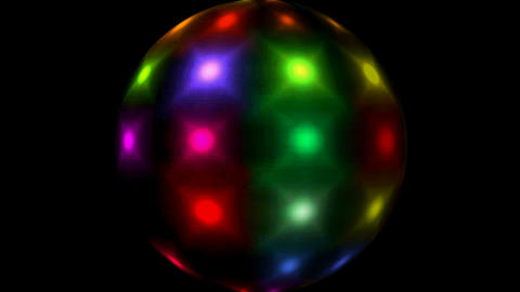 Mirror ball.glass,concert,entertainment,illumination Stock Video Footage