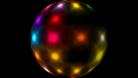 Mirror ball.glass,concert,entertainment,illumination Stock Video Footage