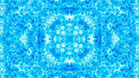 blue flower pattern,orient fancy... Stock Video Footage