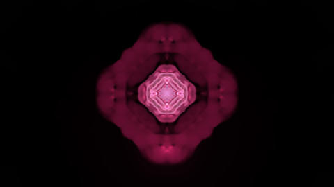 red rotation flower lotus pattern,kaleidoscope.Buddhism... Stock Video Footage