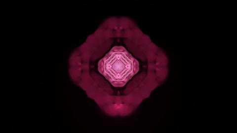 red rotation flower lotus pattern,kaleidoscope.Buddhism... Stock Video Footage
