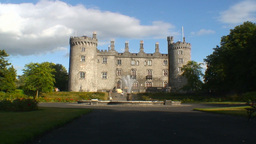 Kilkenny Castle 1 Stock Video Footage