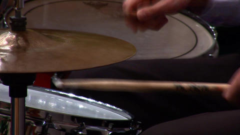 drums beat Stock Video Footage