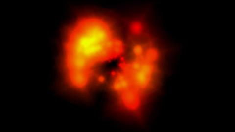 Fire,explosion,blood,Spectroscopy,chromatography,dizzines... Stock Video Footage