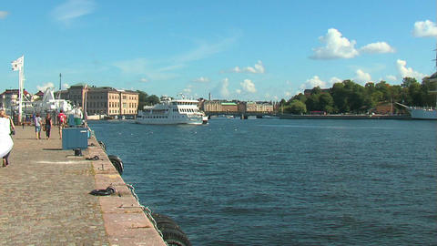 Ferry 1 Stock Video Footage