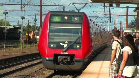 High speed train 2 Stock Video Footage