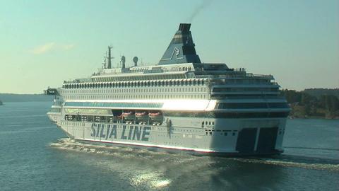 Ocean liner 6 Stock Video Footage