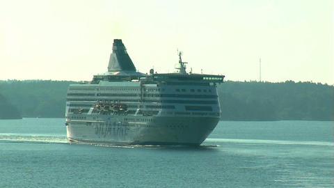 Ocean liner 8 Stock Video Footage