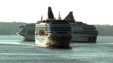 Ocean liner 10 Stock Video Footage