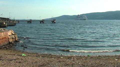 Ocean liner 13 Stock Video Footage