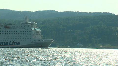 Ocean liner 15 Stock Video Footage
