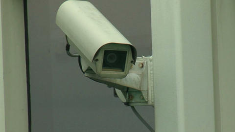 Surveillance Camera 1 Stock Video Footage