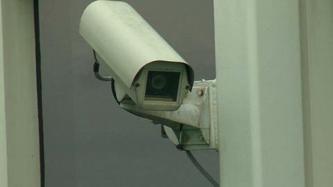 Surveillance Camera 1 Stock Video Footage