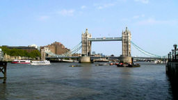 London Bridge 2 Stock Video Footage
