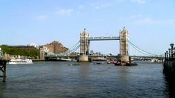 London Bridge 2 Stock Video Footage