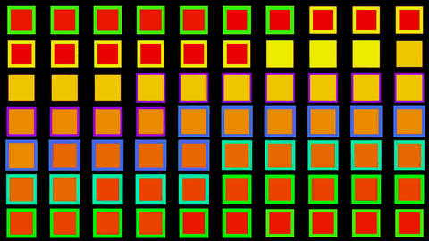 Color square matrix, disco light,holiday,Game,Electronics,Fireworks,stage,material,texture,Design,sy Animation