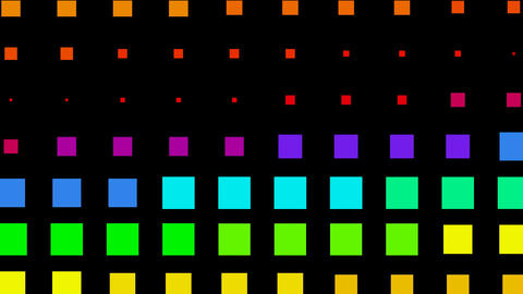 color square matrix background,Color square matrix, disco... Stock Video Footage