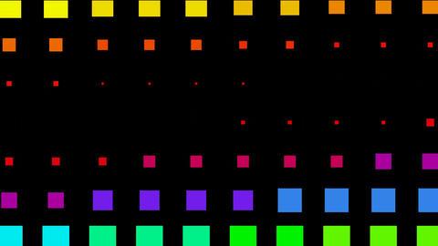 color square matrix background,Color square matrix, disco... Stock Video Footage
