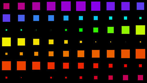 color morph square background,Led,neon... Stock Video Footage
