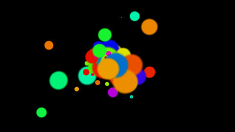 color circle pattern,motion disco... Stock Video Footage