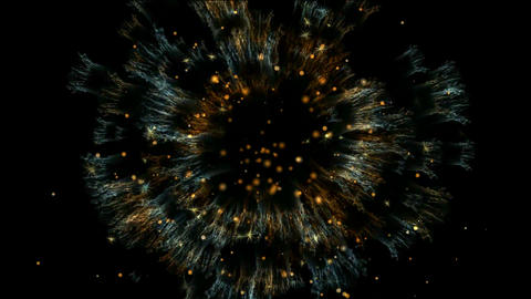 firework digital... Stock Video Footage