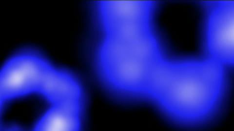 Blue cells,stomach,organs,Led,neon... Stock Video Footage