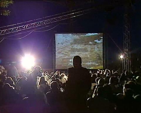 festival film open air Footage