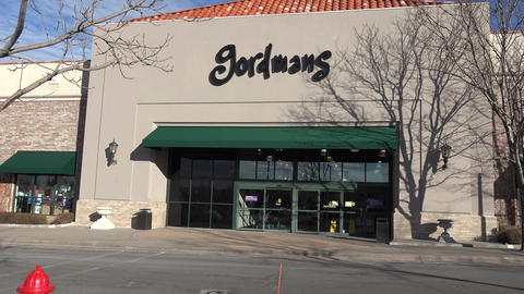 Gordmans Clothing Store In Focus stock footage