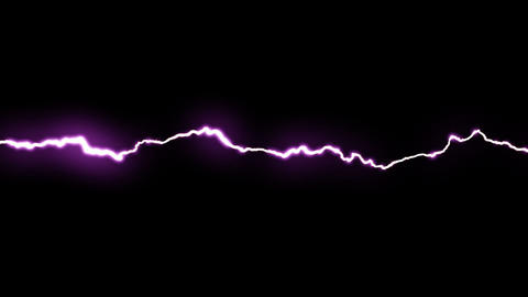 Lightning. HD 1080p. Loop-able Animation