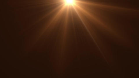 Lens flare top 03 CG動画素材