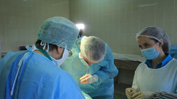 Operation: the general surgery Footage