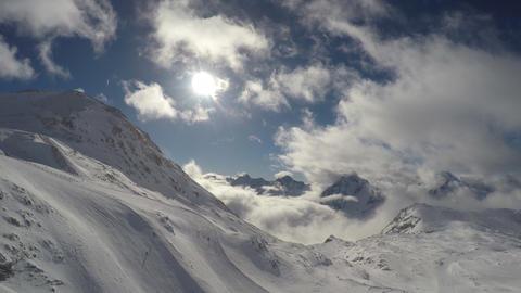 Alpe Vrhovi 01France Alpine Alps Mountain Landscap stock footage