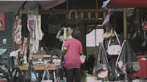 small town market Footage