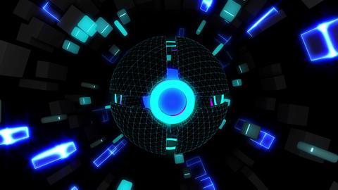 Pulse Geometry VJ Loop 02 Animation