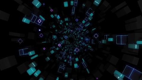 Pulse Geometry VJ Loop 04 Animation