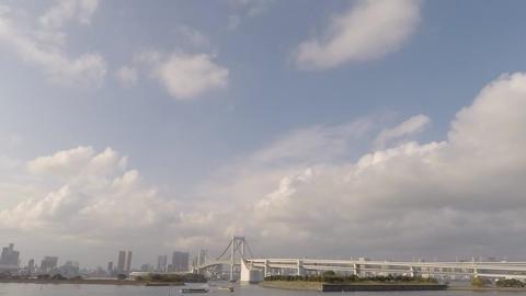 [HD]Rainbow Bridge stock footage