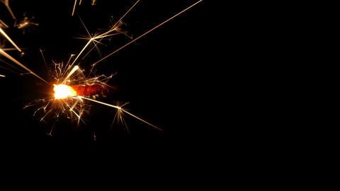 sparkler slow motion 02 Footage