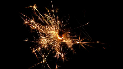 sparkler slow motion 04 Live Action