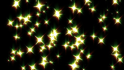 星回転 黄色 動画素材, ムービー映像素材