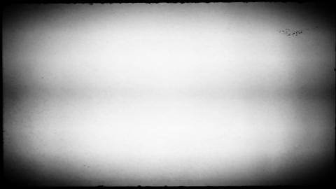 Black and White Movie Reel Footage