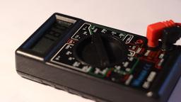 Digital Electonics Multimeter Footage