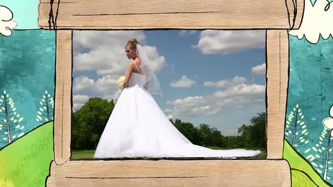 Wedding Profile Photo Movie Mountain After Effects Template
