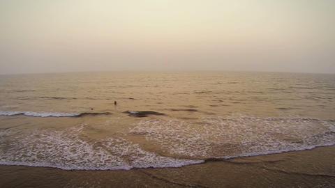 Goa Beach stock footage